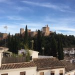 View of the Alhambra from your room