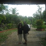 Me and My wife in front of the resort