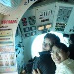 Submarine ride sat near the Captains ship