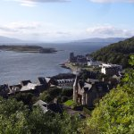 View of Oban from the tower.
