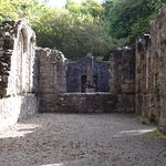 Inside of Dunstaffnage Chapel, which is a short walk from the castle itself.