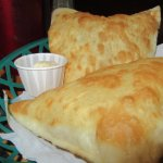 Great Sopapillas with butter and honey