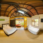 Big panoramic 360 of Family Bungalow at Hotel Amazon Bed and Breakfast, Leticia Amazonas Colombi