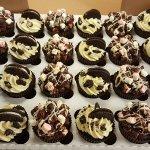 Rocky road and Oreo cupcakes