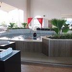 La fontaine du Lobby