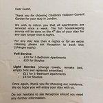 Citadines Holborn-Covent Garden London Foto