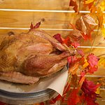 Smoked whole turkeys available for our Thanksgiving and Christmas Menus