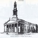 This is the design of the cathedral as envisaged in 1840. Today it looks very similar.