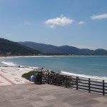 Vista do acesso à praia da Armação