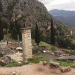Delphi ruins, quite impressive and for me even more interesting than the parthenon...