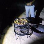 Zarb made inside oven underground