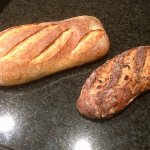 Back home our loaves we got as part of our meal