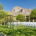 Sunset Point - wedding and outdoor reception area
