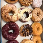 Best largest donuts in town. Twice the weight of competitors donuts and twice as delicious.