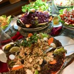some of the delicious buffet salads
