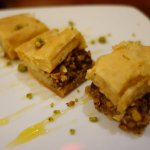 terrible baklava - only had one bite :(