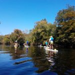Santa Fe tour! Beautiful weather, all year round when you paddle board!