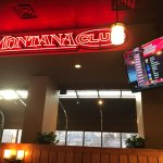 The Montana Club Restaurant on Brooks in Missoula, MT, NOV 30, 2017