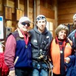 Two wonderful guides after our zip.