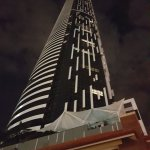 Great looking building Day or Night and a very good landmark -m easy to find your way back to