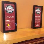 Crazy Buffet proudly displays their Zagat Awards