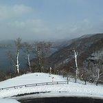 発荷峠からの十和田湖 撮影11月21日