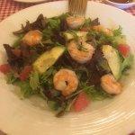 insalata gamberetti e avocado