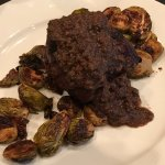 Beef filet with brussels sprouts