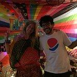 Foto de hippie de bar