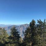 Wildflower Hall, Shimla in the Himalayas Foto