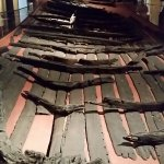 what's left of a Viking ship that was found and may be the oldest ever recovered
