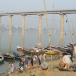 Fishing Boats on The Ganges