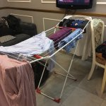 The hotel clothes dryer