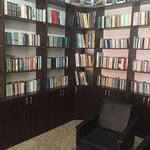 library in hotel