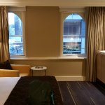 Room 719. Spacious shower,room at hallway's end,two window's view to Southbank.Only  one disappo