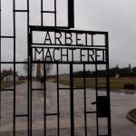 The gate's design would later serve as an example for the notorious Auschwitz's one