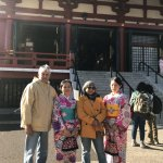 At the Asakusa temple