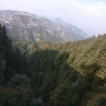 Mussoorie from hill side