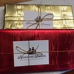 Ask for one of our gold, yellow or blue boxes this holiday season