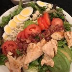 huge cobb salad enough for two!!!