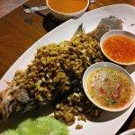 Garlic Pepper Fried Fish