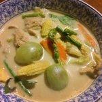 Green Curry Pork (Chicken taste better)
