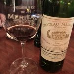 The superb wine