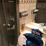 Bad für ein Einzelzimmer