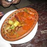 Churiso with roasted potatos
