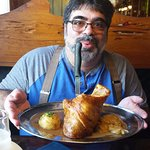 Schweinshaxe (pork shank) - HUGE & Yummy!