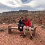 Ed & I in Valley of Fire