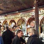 Classic bar area