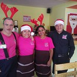 Everyone is decked out for Chrismas! The staff and management is just WONDERFUL!