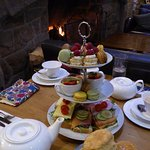 Afternoon tea for two...wow!